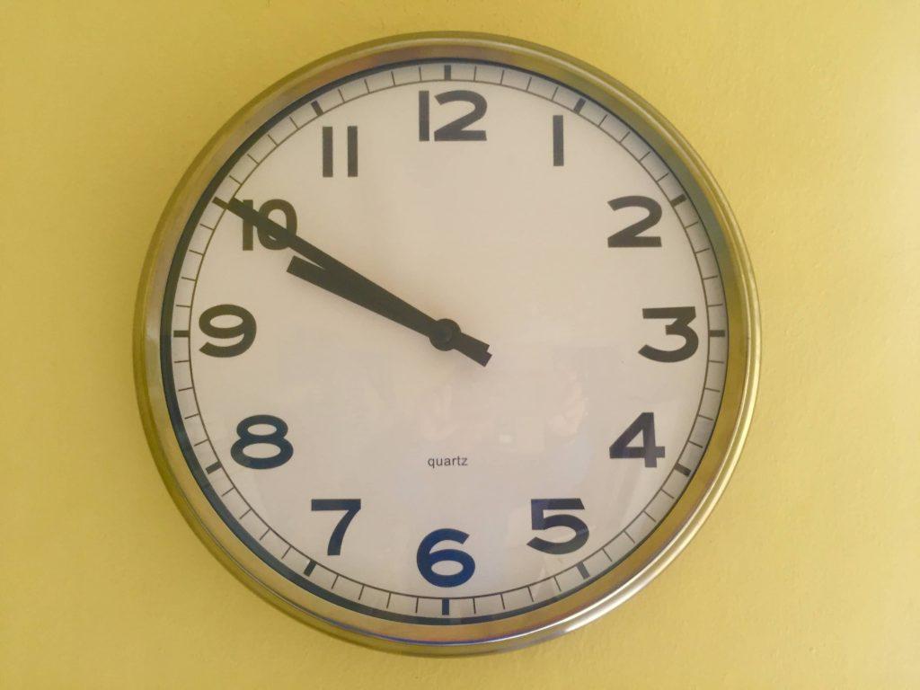 come usare bene il tempo per rendere efficiente il proprio lavoro