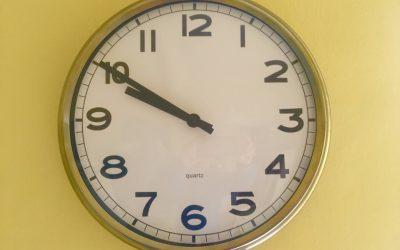 Al ritmo di un orologio, come usare bene il tempo